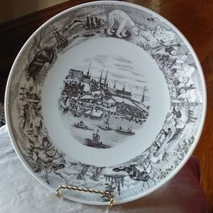 Lovely Royal Doulton Canadian Centennial plate